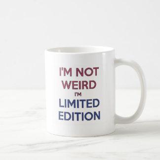 Eu não sou estranho mim sou humor adolescente das caneca de café