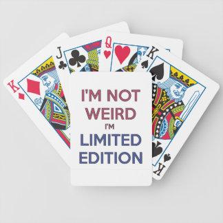 Eu não sou estranho mim sou humor adolescente das jogos de baralhos