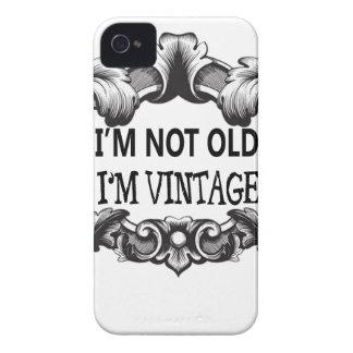 eu não sou idoso mim sou vintage capinha iPhone 4