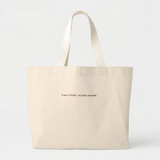 Eu não sou infantil você poopyhead fedido bolsa para compra