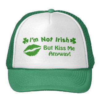 Eu não sou irlandês boné