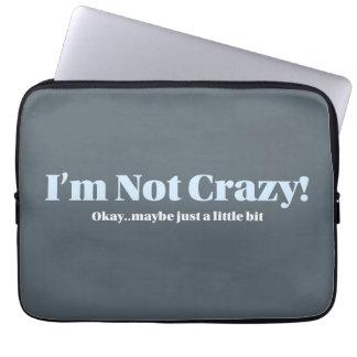 Eu não sou louco - a bolsa de laptop capas de notebook