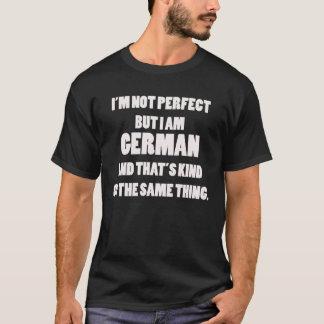 Eu não sou perfeito mas eu sou camisa alemão