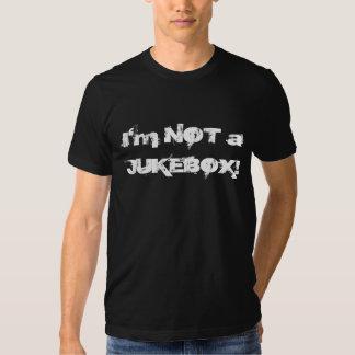 Eu não sou um JUKEBOX Tshirts