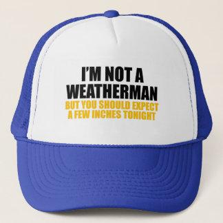 Eu não sou um meteorologista boné