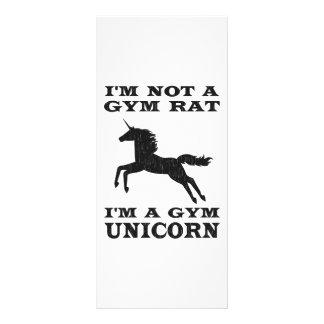 Eu não sou um rato que do Gym eu sou um unicórnio  Panfleto Informativo