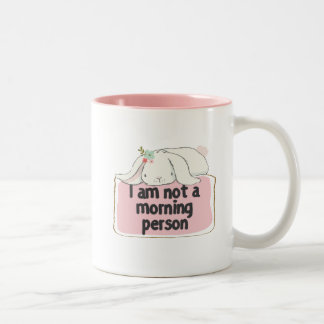 Eu não sou uma caneca da pessoa da manhã