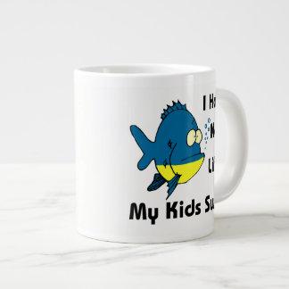 Eu não tenho nenhuma vida - minha natação dos caneca de café grande