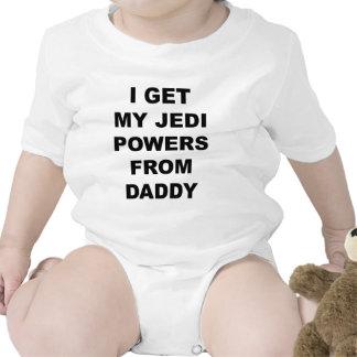 Eu obtenho meus poderes de Jedi do pai Macacões