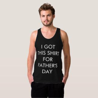 Eu obtive esta camisa para o dia dos pais