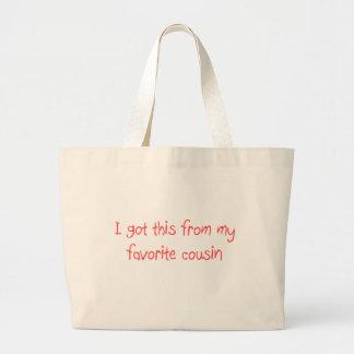 Eu obtive este de minha sacola favorita do primo bolsa tote grande