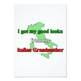 Eu obtive meus bons olhares de minha avó italiana convites