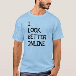 Eu olho o melhor namorando em linha do fósforo de camiseta