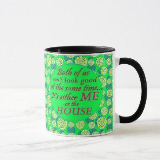 eu ou a casa podem olhar a boa caneca de café