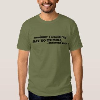 Eu ouso-o, camisa do jogo t-shirt