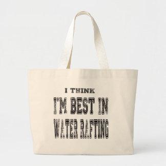 Eu penso que eu sou o melhor em transportar da bolsa para compra