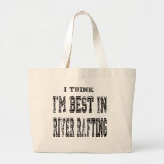Eu penso que eu sou o melhor em transportar de rio bolsas