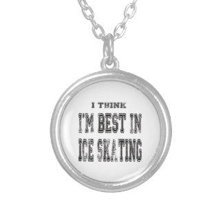 Eu penso que eu sou o melhor no patinagem no gelo bijuterias