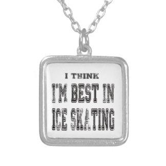 Eu penso que eu sou o melhor no patinagem no gelo pingentes