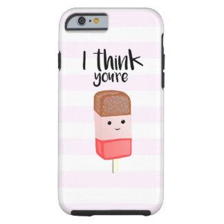 Eu penso que você é FABULOSO - capa de telefone