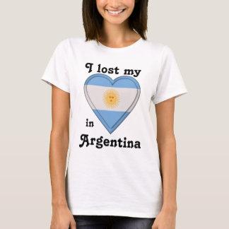 Eu perdi meu coração em Argentina Camiseta