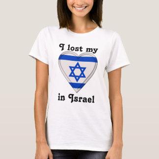 Eu perdi meu coração em Israel Camiseta