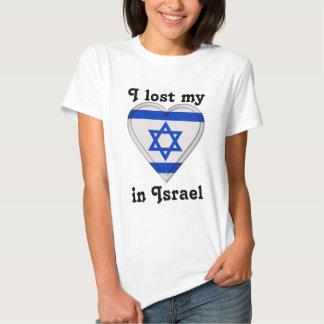 Eu perdi meu coração em Israel T-shirt