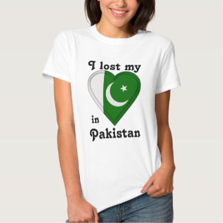 Eu perdi meu coração em Paquistão Tshirt