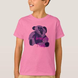 Eu pertenço ao ursinho camiseta