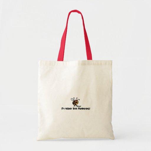 Eu pilhagem da abelha da preferencialmente! bolsa de lona