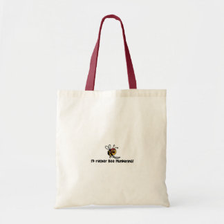 Eu pilhagem da abelha da preferencialmente! bolsa tote