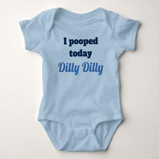 Eu pooped hoje a camisa do bebê da coisa especial