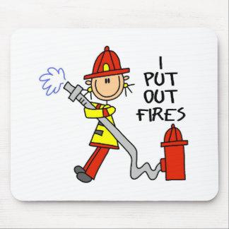 Eu pôr ateio fogo para fora a Mousepad
