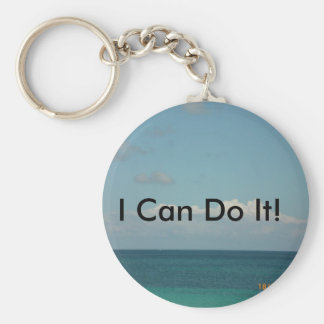Eu posso fazê-lo! chaveiro