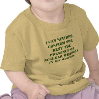 Eu posso nem confirmar nem negar a presença de… camiseta