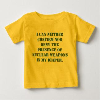 Eu posso nem confirmar nem negar a presença de… tshirt