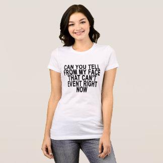 Eu posso nem sequer agora. .png camiseta