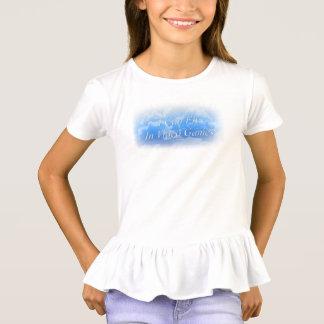 Eu posso voar na camisa do plissado do video games