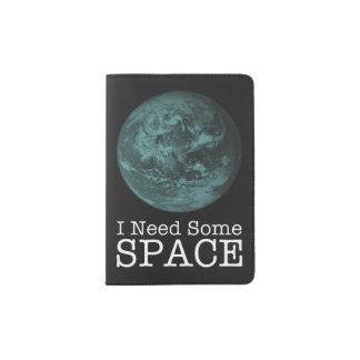 Eu preciso algum suporte do passaporte do espaço capa para passaporte