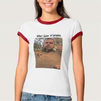 Eu preciso Hip Hop, De La Crim Camiseta