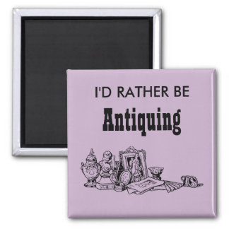 Eu preferencialmente Antiquing Ímã Quadrado