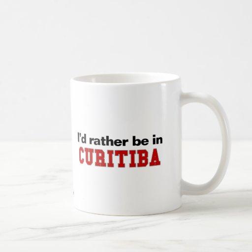 Eu preferencialmente estaria em Curitiba Canecas