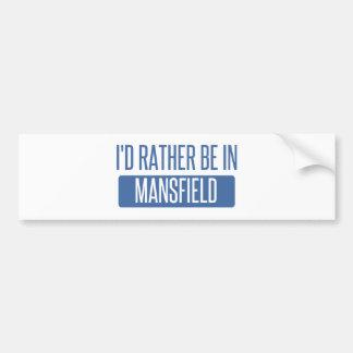 Eu preferencialmente estaria em Mansfield TX Adesivo Para Carro