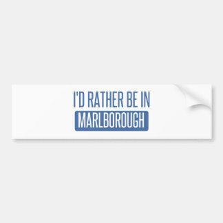 Eu preferencialmente estaria em Marlborough Adesivo Para Carro
