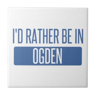 Eu preferencialmente estaria em Ogden