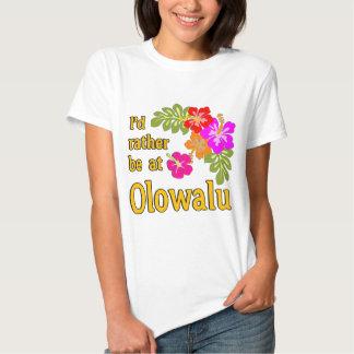 Eu preferencialmente estaria em Olowalu Havaí T-shirts