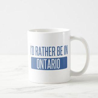 Eu preferencialmente estaria em Ontário Caneca De Café