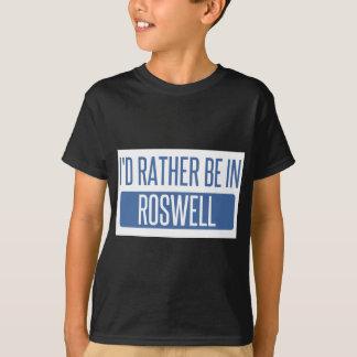 Eu preferencialmente estaria em Roswell GA Camiseta