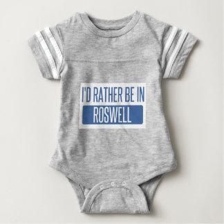Eu preferencialmente estaria em Roswell nanômetro Body Para Bebê