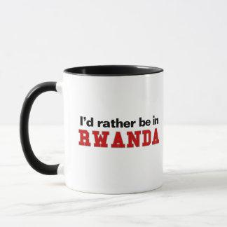 Eu preferencialmente estaria em Rwanda Caneca